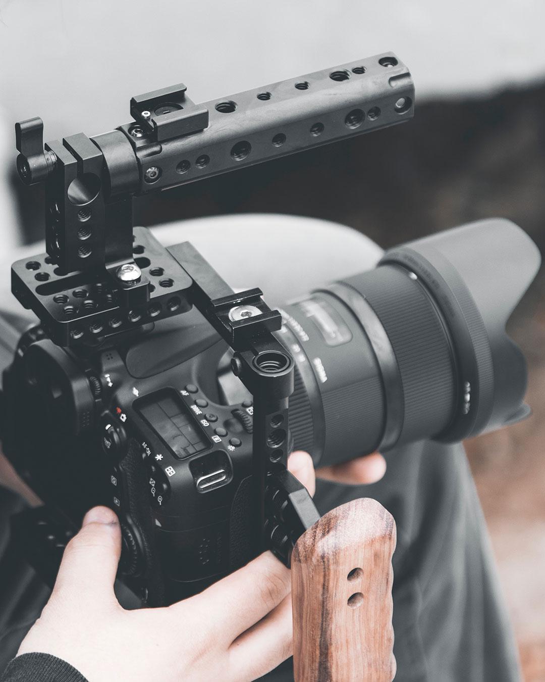 Film med DSLR-kamera