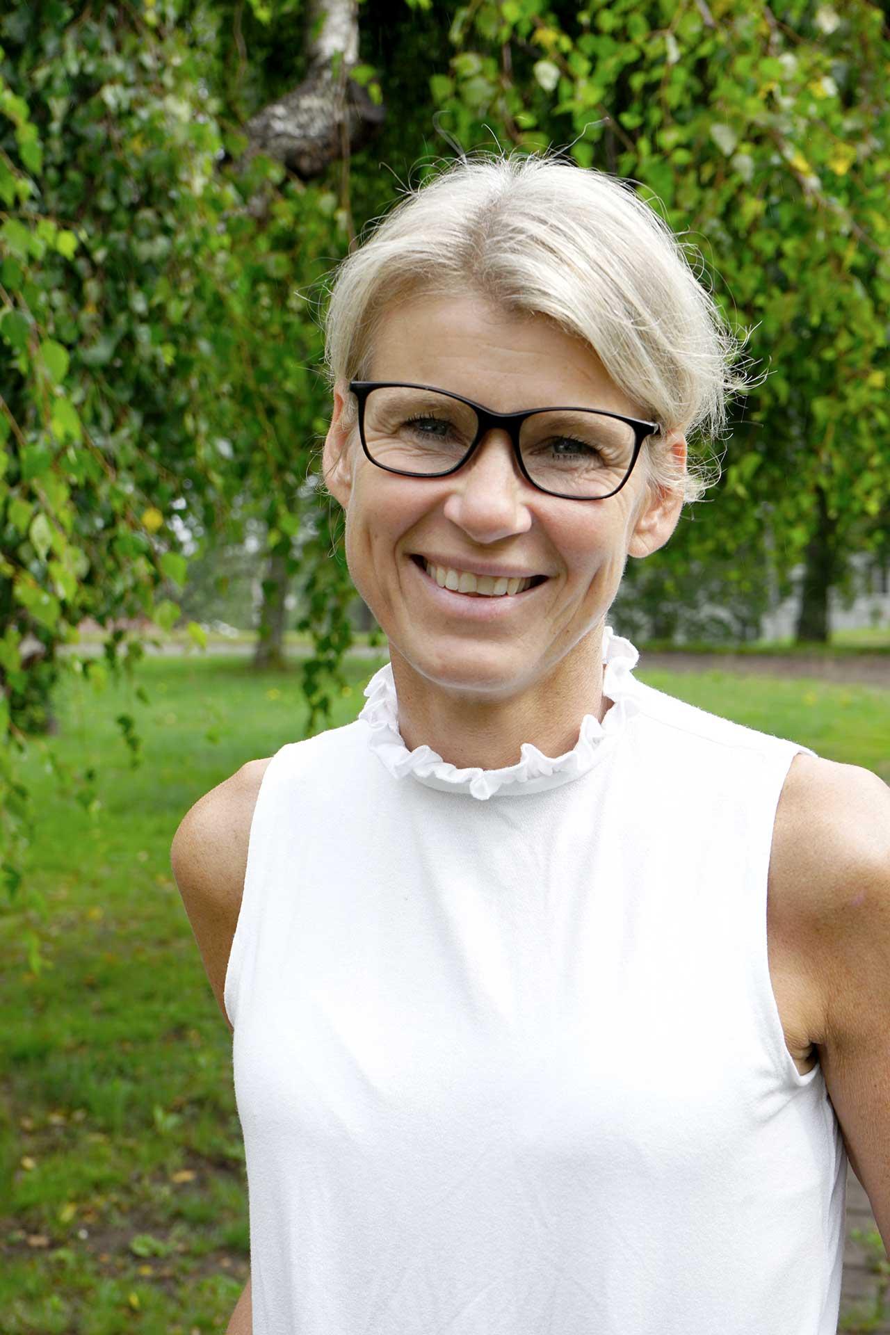 Anna-Lena Thoursie, kurator på Svf