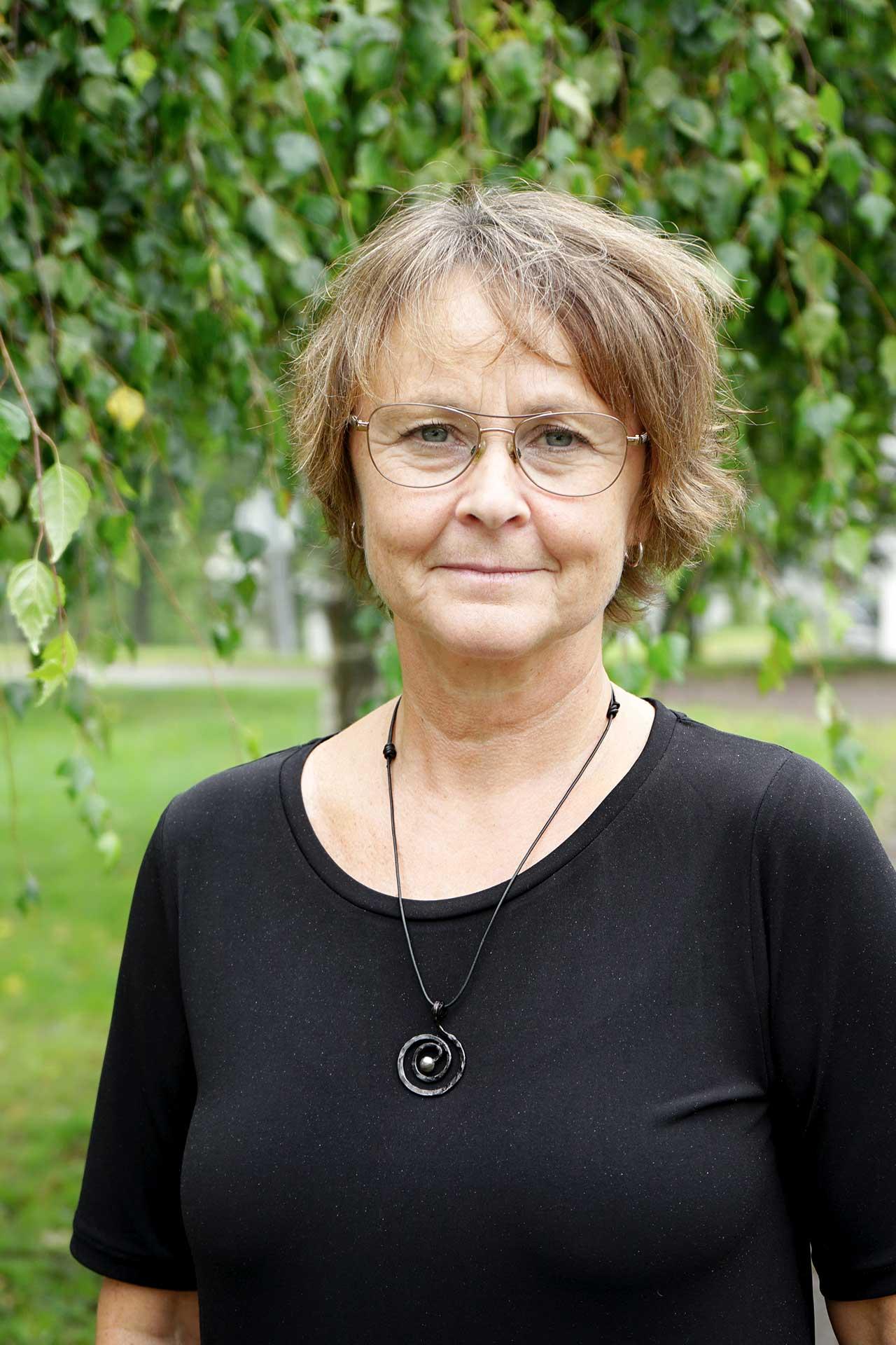 Cecilia Björnlinger, kurator på Svf