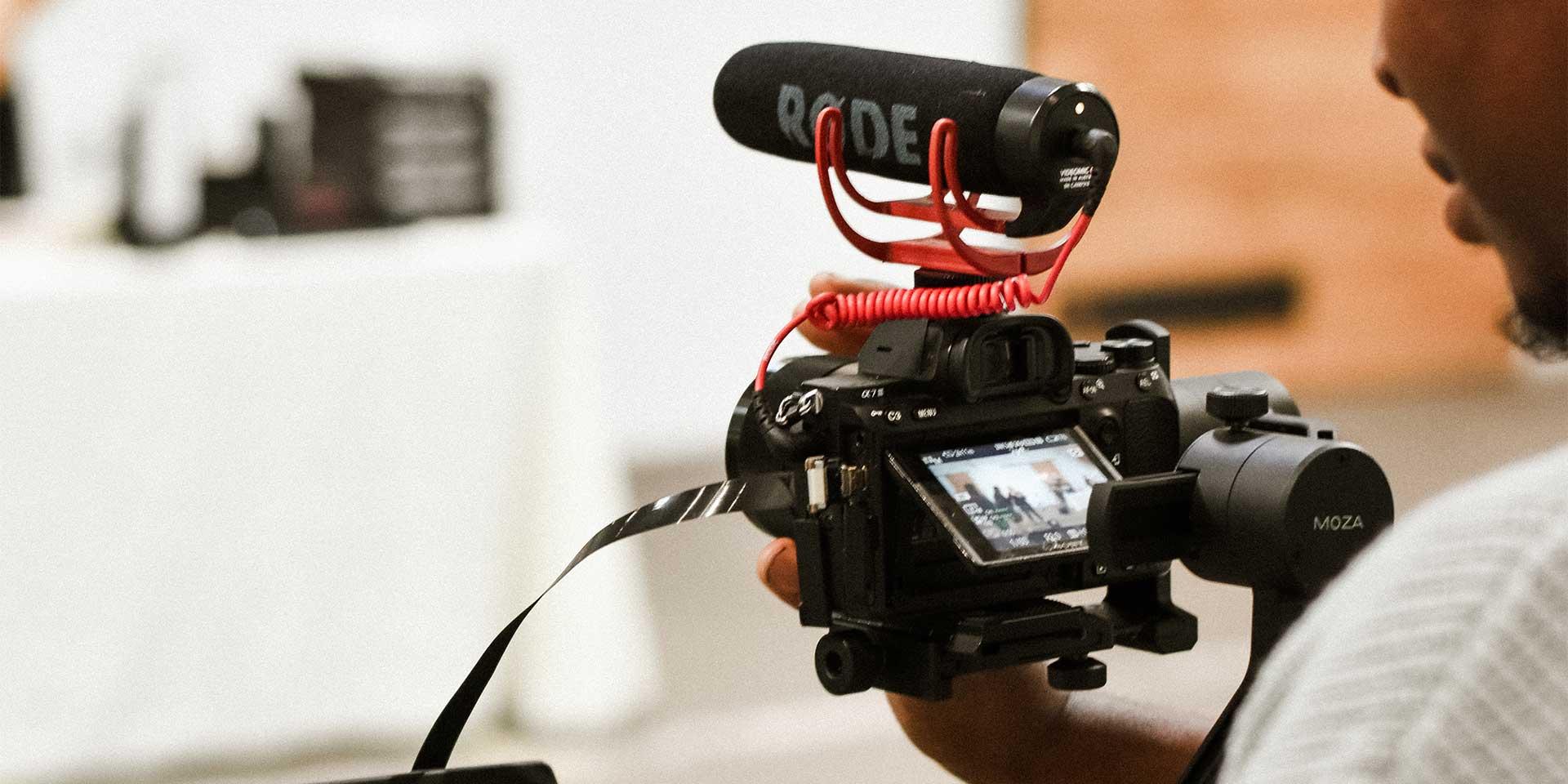 Lär dig filma med systemkamera på Film- & medieproduktion